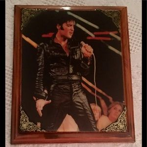 Elvis Presley 1968 Comeback Special Wood Lacquer